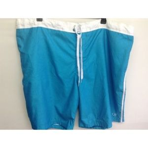 Op Swim Short Knee Height Drawstring Rear Pocket
